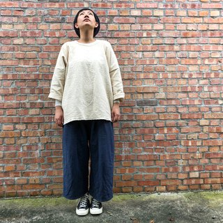Thick handmade double cotton sweater