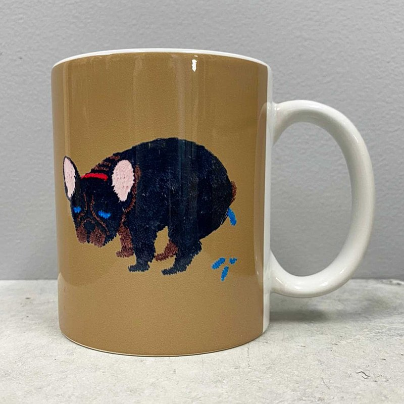 【PEGION】F/B POOPING MUG - BRINDLE
