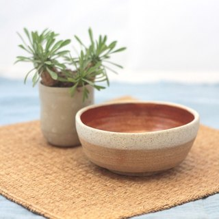 ceramic shino bowl