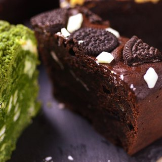 [Mr. Tao De handmade brownie monopoly OREO sandwich Brownie