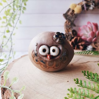 C-19 Owl Tao Ling │Yoshino Hawk x Office Small Things Pottery Design Bell Cute Present