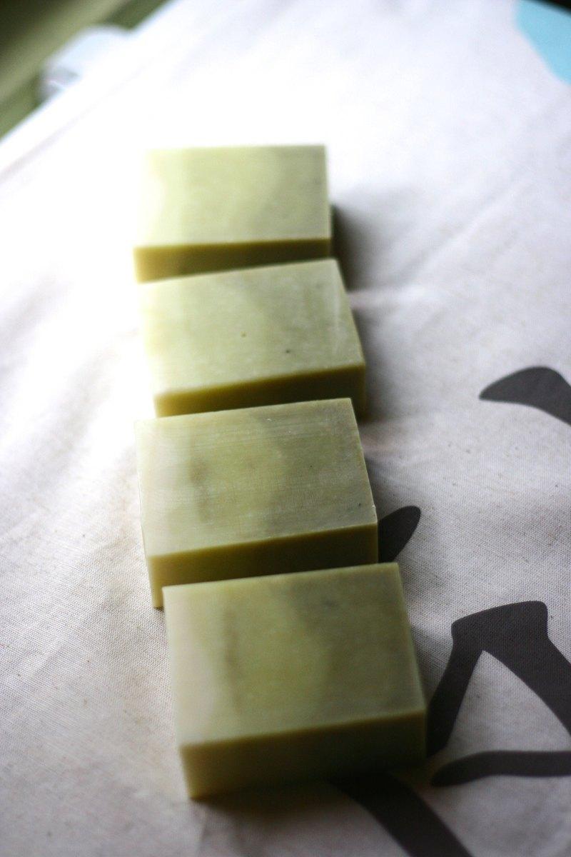 ||製皂工人手工皂||薄荷漸層皂