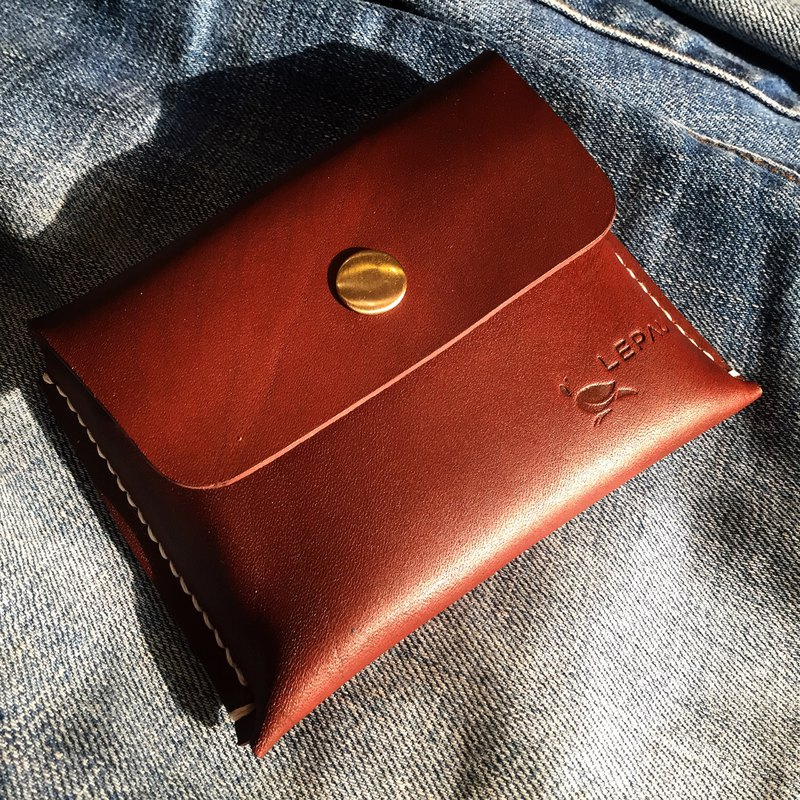 Leather coincase