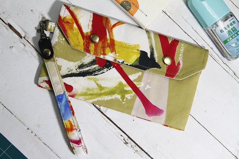【Gi LAI】口罩收納袋/萬用小袋仔/Mini Pouch-謬克的塗鴉
