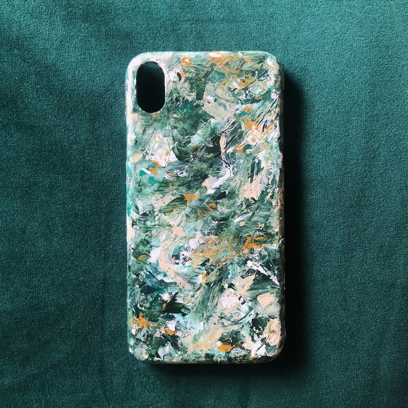 Cool Store Texture Original Original Hand-painted Oil Painting Mobile Phone Case Waterproof Does Not Fading