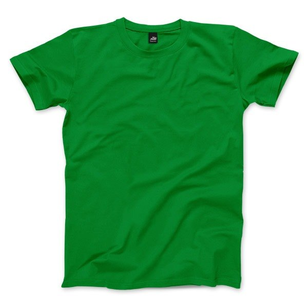 Neutral plain short-sleeved T-shirt - Irish Green