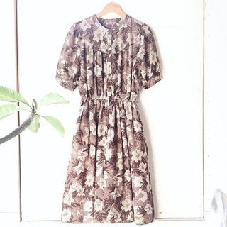 Ancient Cave Firm │ VINTAGE DRESS │ Alice Cradle Fantasy Printing │ Ancient Dress