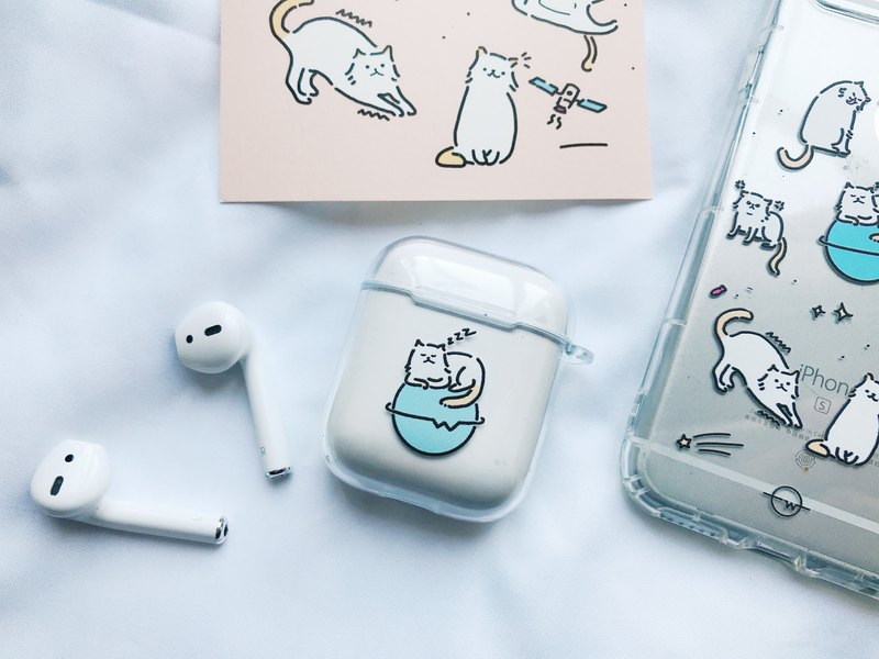 My Cat AirPods Case ( With Cat Post Card)
