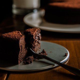 Classic is extremely thick chocolate Chocolate Cake