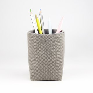 Pencil Holder, Brush Holder, Storage Box, Desk Organization, Grey