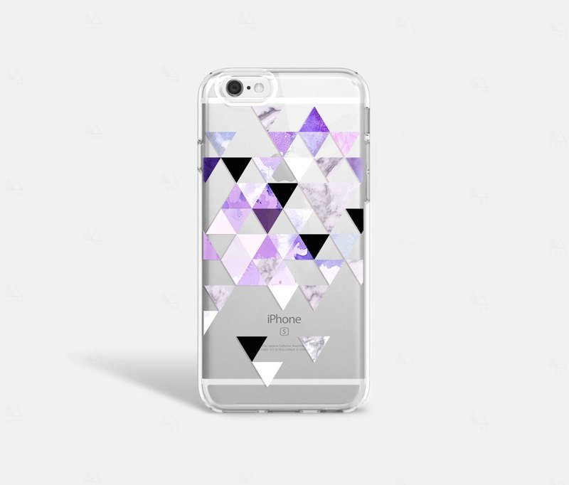 Purple iPhone 7 Case Clear iPhone 8 Case iPhone 7 Plus Clear Case Clear iPhone X