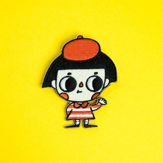 Embroidered Pins - Little Painter