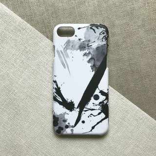 Modern abstract ink. Matte Case( iPhone, HTC, Samsung, Sony, LG, OPPO)