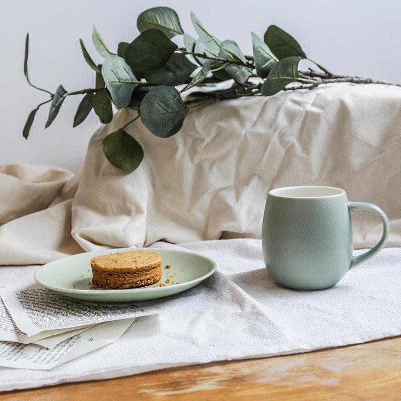 日本ORIGAMI 摺紙咖啡 Barrel 咖啡杯210ml 霧色系 底盤另購