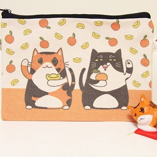 [Million with the package package] Lucky Fu cat (large)