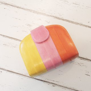 正 Korean handmade squid wallet colorful candy