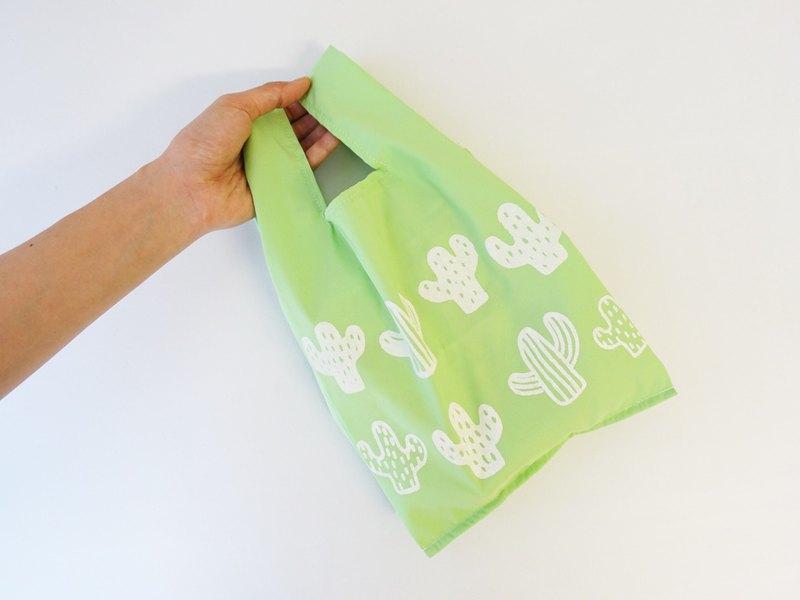 環保小型購物袋  飲料食物提袋 仙人掌