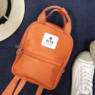 [RITE] Le Tour Series - Dual-use Mini Backpack - Rainbow [Orange]