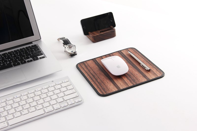 Roll Wooden Mouse Pad (Ebony)