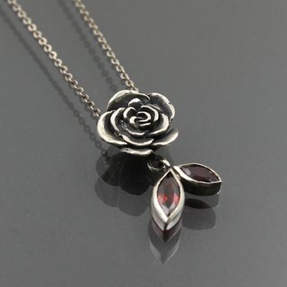 - Night Rose I - Pendant Pendent / Necklace Necklace