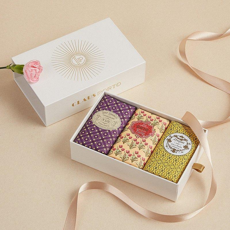 CLAUS PORTO復古手工蠟封香氛皂禮盒組 皇室御用│好萊塢巨星最愛