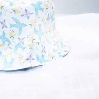 Summer Double Sided Fisherman Hat Series | Bluebird