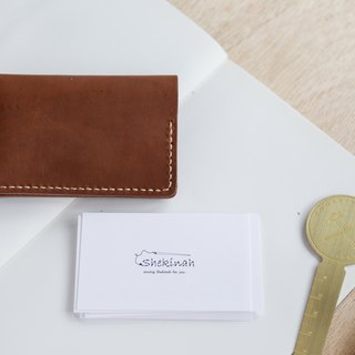 Shekinah Handmade Leather - Bilateral Business Card Holder