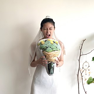 [FunPrint] Bouquet of Broccoli Pillow