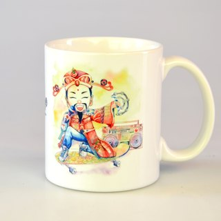 Tabby sheep - Fortune God. Congratulations on making a fortune / Illustration Mug