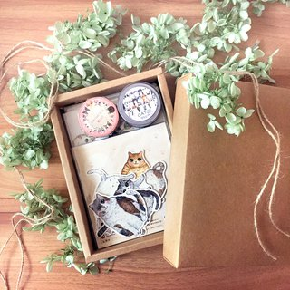 Goody Bag - Cat Good Friends Gift Box