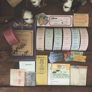 Goody Bag-Value Vintage Tickets