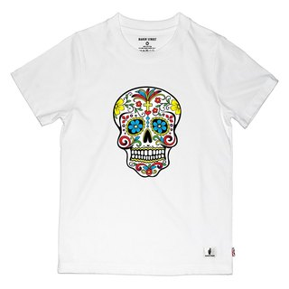 British Fashion Brand 【Baker Street】Día de Muertos Print T-shirt for Kids