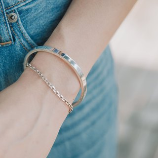 Quietly - sterling silver bracelet