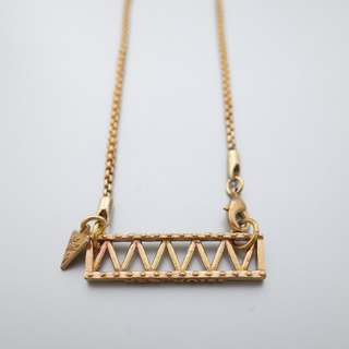 Stage truss necklace
