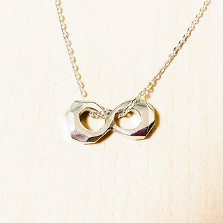 Infinite sterling silver necklaces <zero limit> pure hand-made Mother's Day / Valentine's Day / clavicle chain / gift / anniversary