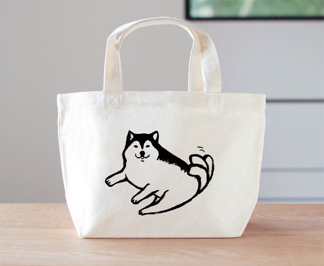 Shiba Inu mini bag lunch bag