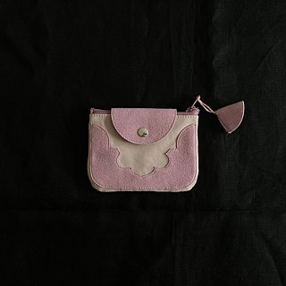 temple coin purse < pink >