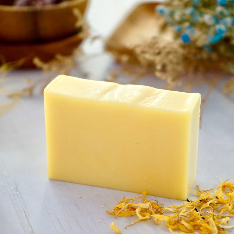 【 青手作 】回春金盞花 馬賽皂 | 沐浴 滋潤保濕/調理防護