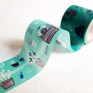 [Hoppy] Mini Box-Plant1 potted blue paper tape / GTIN: 4713077970645