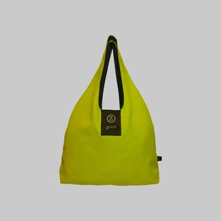 grion waterproof bag - Shoulder dorsal section (M) Limited models - fluorescent yellow