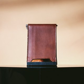 Raze Wallet in two-tone brown