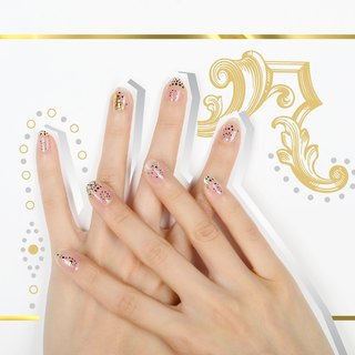 Rock Your Nails Wraps / Designer Nail Stickers ( 22pcs)