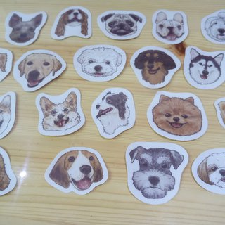 Sketch Series ~ Big Head - Waterproof Sticker (6 in)