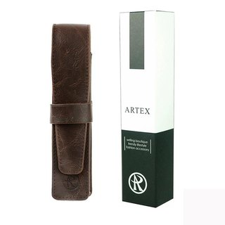 ARTEX Leather Pen Brown