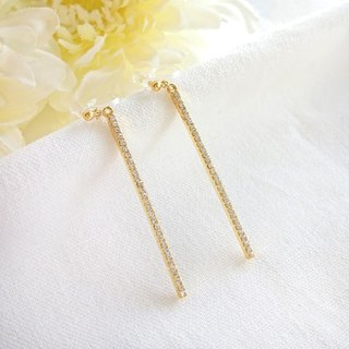 Bijou stick earrings, earrings