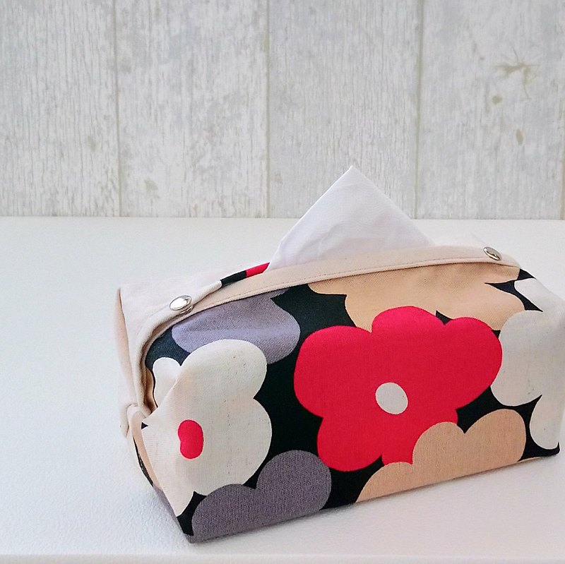 [ITS/ Double Tie Noodle Paper Cover] Pink peach marshmallow flower (can be purchased with universal cowhide lanyard)