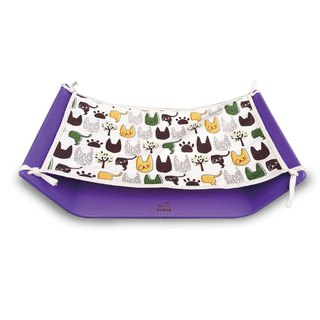 Comet Earth Office - Pet Sleeping Hammock - Lavender Purple (with a piece of sleeping cloth)