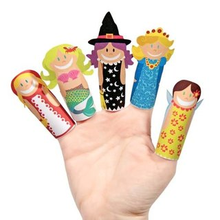 [] Pukaca hand-made educational toys finger doll series - Magic Girl