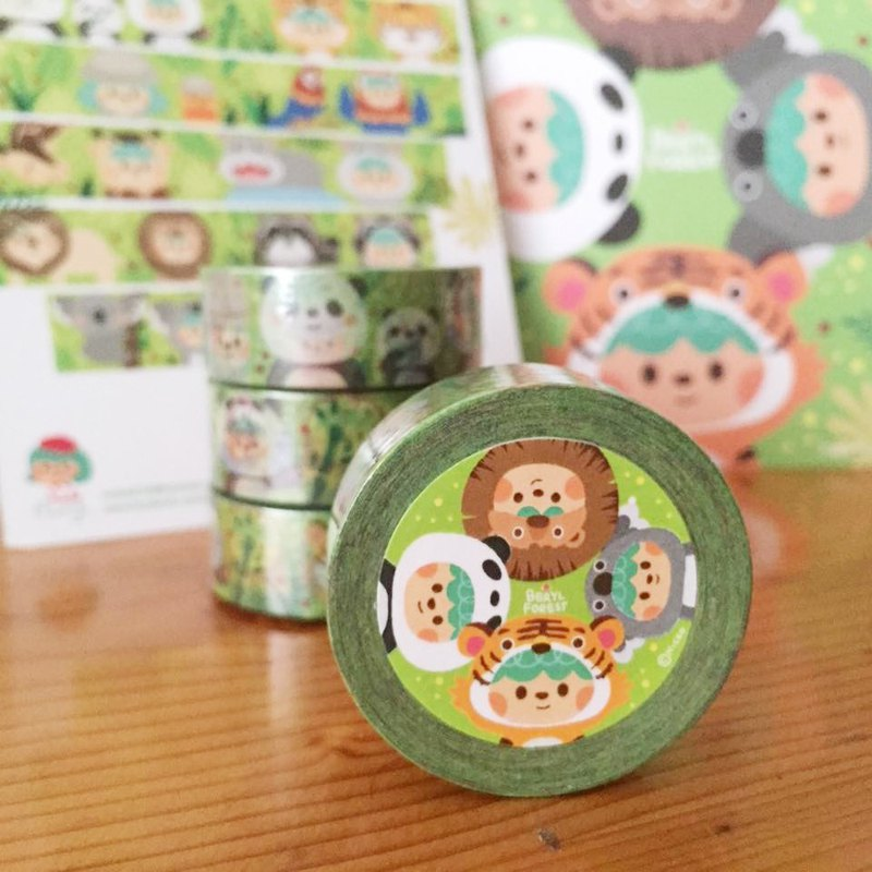 [Beryl Little Forest] Limited Paper Tape