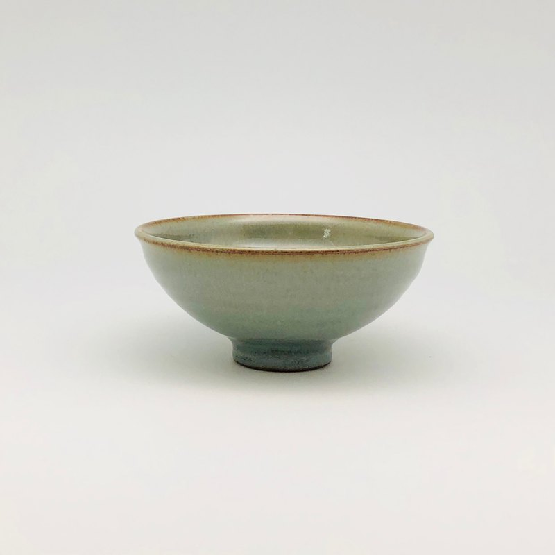 Hand made celadon glaze bowl
